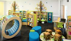 58 New ideas school library seating products School Library Design, Kids Library, Library Room, Library Ideas, Dream Library, Library Skills, Preschool Library, Elementary School Library, Primary School