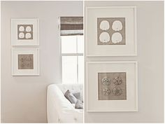 MOM .....For the beach house IKEA Shadow Box Frames with Shells {Always Swell} - The Inspired Room