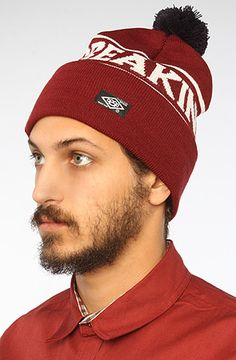 10 Deep The Breakin Law Knit Hat in Burgundy : get 20% off with rep code SHANE20 @Karmaloop PERFECT for the Winter!