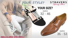 Your style, your size? #smallshoes #largeshoes #Straversshoes #womens #shoes #sandals #womenswear #womensfashion #summeroutfit