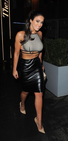 ea02dd00ee 79 Best Leather Pencil Skirts images | Leather dresses, Leather ...