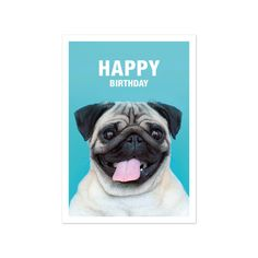 Happy Birthday Greeting Card Set of 3