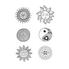 Dibujos De Los Simbolos