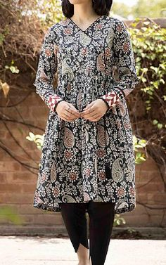 Lawn Suits, Famous Brands, Black Cotton, Kurti, Sapphire, Dresses With Sleeves, Long Sleeve, Casual, Clothes