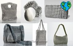 crochet with soda can tabs...brazilian art