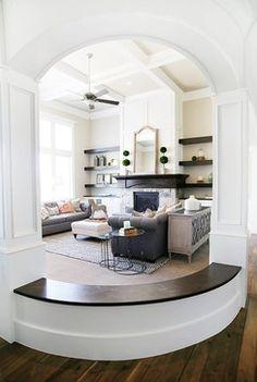 7th and Penn | Kimber Ririe Interior Designer: Great Room, Utah Valley Parade of Homes 2014 Mapleton Home