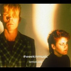 #weekinmusic #greatmusic from #1981 through to #1983 #VinceClarke along with #AlisonMoyet were #yazoo - #newwave #synthpop #electronic #yazCheck out the #weekinmusic section of my blog at http://liamlusk.com/category/week-in-music/