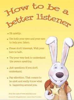 Oh, how the Kindergarteners and 1st graders love Howard! The lesson was listening and they were going to listen to every last word that little bunny had to say. Learning Listening Skills in 1st Gra...