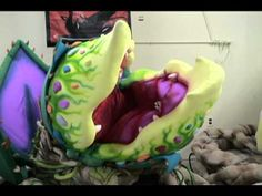 Audrey II, Pod 3 for Little Shop of Horrors set-up and puppetry