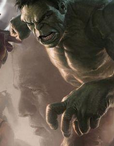 Hulk concept art for 'Avengers Assemble'