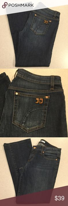 Joe's Jeans 29X29 Honey Bootcut In Hale! Joe's women's jeans The honey Bootcut in Hale wash Size 29 Professionally hemmed to a 29 inch inseam Dark blue wash with soft fading Soft comfortable stretch denim Hard to find wash! Perfect preowned condition, no flaws 