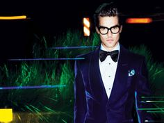 Tom Ford Fall-Winter 2011-2012 Velvet Dinner Jacket