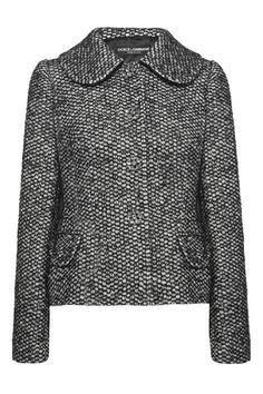 7d526637b Dolce   Gabbana - Crystal-embellished bouclé-tweed jacket