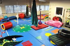 Autism Therapy Sensory Gym - I wish we had the funds and space for this