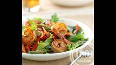 Салат европейский с креветками