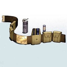With a little bit of alteration, this could easily be how to make her utility belt