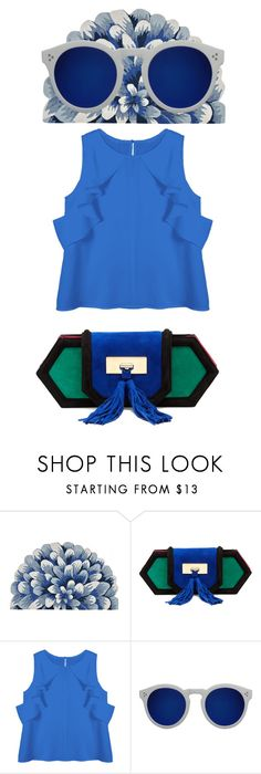 """www love"" by www-whatwomenwan1 on Polyvore featuring Balmain and Illesteva"