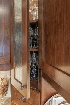 Unique Glass Cabinet Doors | Water Glass in Custom Cabinet doors ...