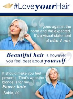 There's a power that comes from embracing the hair that feels like YOU. That's why Dove Hair is working to expand the definition of beautiful hair to include every color, length, and texture. See how we're redefining beautiful at Pinterest.com/DoveHair. #LoveYourHair