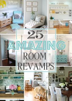 25 Amazing Room Revamps - House by Hoff