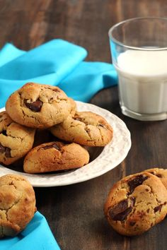 Mini Chocolate Chip Cookies – Weight Watchers (2 Points)