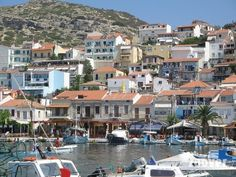 The harbour of Pythagorion. Each moment of the day a very nice place to be.