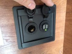 How to add a 12V and USB charging ports to the truck camper. …