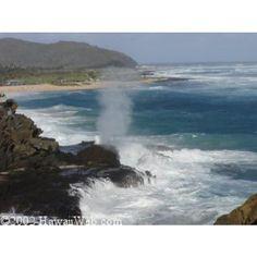 Halona Blow Hole  hawaiiweb.com