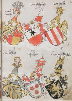 Wappenbuch des St. Galler Abtes Ulrich Rösch Heidelberg · 15. Jahrhundert Cod. Sang. 1084  Folio 266
