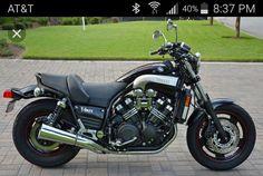 Yamaha Motorcycles, Cars And Motorcycles, Biker Love, V Max, Bad To The Bone, Custom Bikes, Cool Bikes, Ford Mustang, Jeep