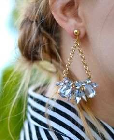 bling bling earrings