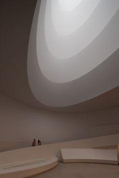 "James Turrell ""Aten Reign"" 2013, installation view, © James Turrell. Photo: David Heald © Solomon R. Guggenheim Foundation, New York"