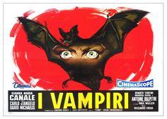 I vampiri (The Devil's Commandment), 1956 - Italian poster