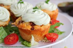 Curry and Comfort: Taco Cupcakes with Avocado Cream Frosting {GIVEAWAY}