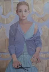 Lizzie Riches at the Portal Gallery, London, UK