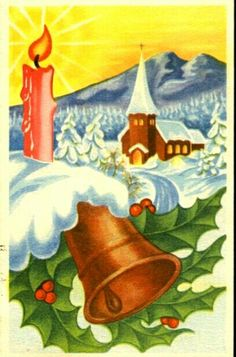 Julekort Birger Cranner 1940s