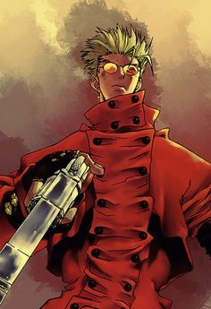 26 Vash of Trigun Illustration Artworks | Naldz Graphics