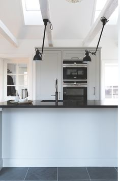 I love how an organised kitchen can help you feel calm and peaceful at home - such a great way to improve your mental health and wellbeing in the home. Adding lots of light helps too with things like VELUX roof windows Roof Dome, Roof Window, Design Your Dream House, Bright Homes, Roof Light, Curved Glass, Flat Roof, Blinds For Windows, Kitchen Organization