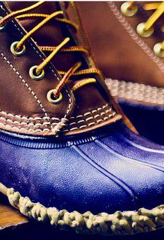 bean boots.