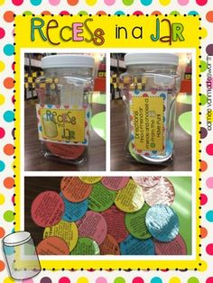 Students simply choose a card from the jar and have fun doing the activities. Activities can be done individually or with a group. The only ...