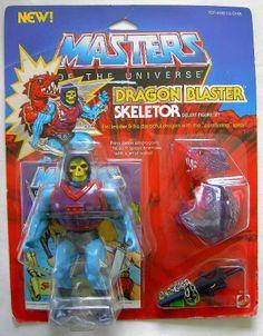 The Original Series > Dragon Blaster Skeletor Gi Joe, Retro Toys, Vintage Toys, Old School Toys, Cartoon Tv Shows, She Ra Princess Of Power, Man Child, Cool Toys, Awesome Toys