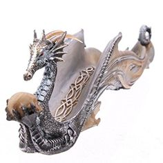 Shimmering Dragon Ashcatcher Incense Holder