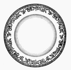 Bianco e Nero - Collezione di Stampe di Piatti Antichi - Black and White - Prints Collection of Antique Dishes
