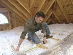 The DIYNetwork.com experts show how to install a folding attic ladder.