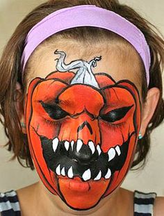 I am pretty sure that when I have children, they are going to horrify all the other children with the makeup I will do for them on Halloween.