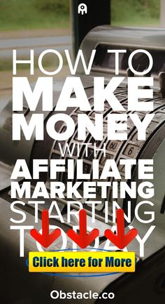 How to Make Money With Affiliate Marketing 👈😘😍 Affiliate marketing is a great way to make money online and from home. Here is how to make money with affiliate marketing. Earn Money Online Fast, Earn Money From Home, Make Money Blogging, Marketing Articles, Marketing Program, Affiliate Marketing, Money Now, Way To Make Money, Pinterest Marketing