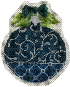 needlepoint Christmas round ornament September-Gina Stitch copy.jpg
