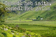 24 beautiful Welsh proverbs and sayings that show the language at its finest - Wales Online Welsh Phrases, Welsh Sayings, Welsh Words, Wales Language, Irish Language, Welsh Translation, Welsh Tattoo, Learn Welsh, Language Quotes