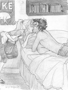 OMG I LUV THIS SOOOOOO MUCH IT'S MAKING ME CRY PERCABETH IS SO ADORABLE
