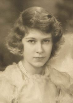 HRH The Princess Elizabeth, afterwards Queen Elizabeth II